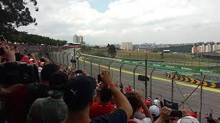 GP Brasil 2018 F1 - Setor A - Primeira volta