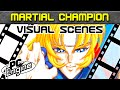 PC Engine Visual Scenes: Martial Champion opening
