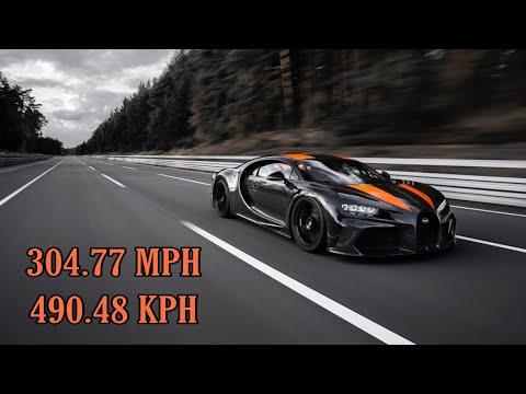 New Bugatti Chiron Super Sport Breaks 300mph