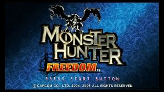 Monster Hunter Freedom PSP walkthrough part 1: The beginning