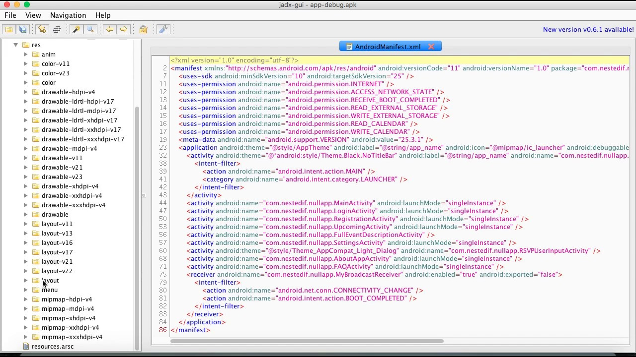 1  Reverse Engineering Android  apk using Jadx - Nested IF