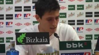 Rueda de prensa Oscar de Marcos e Iraola Supercopa 2009