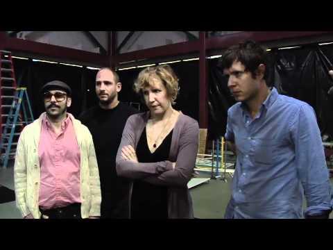 OK Go - Behind the Scenes of White Knuckles - Popcorn vs Hoops
