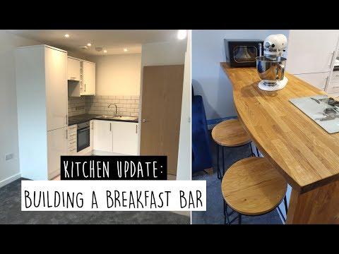 KITCHEN DIY: Building a Breakfast Bar from Scratch