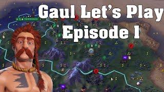 Feeling BARBAROUS - Gaul Let's Play 1