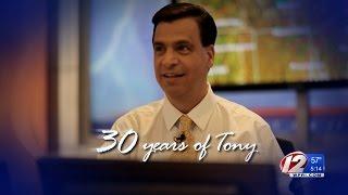 WPRI Celebrates 30 Years of Meteorologist Tony Petrarca - Part 1