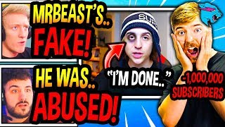 """Streamers *SPEECHLESS* After MrBeast *EXPOSED* For """"ABUSING"""" His EDITORS! (FULL STORY) Fortnite"""