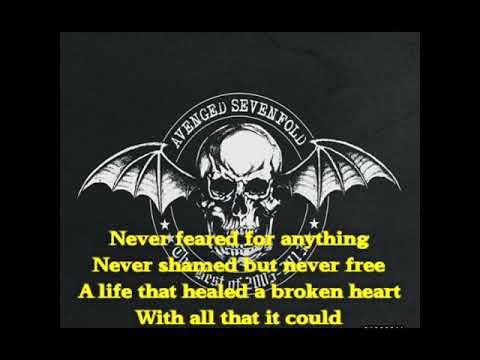 "Lirik Lagu Avenged Sevenfold ""so Far Away"""