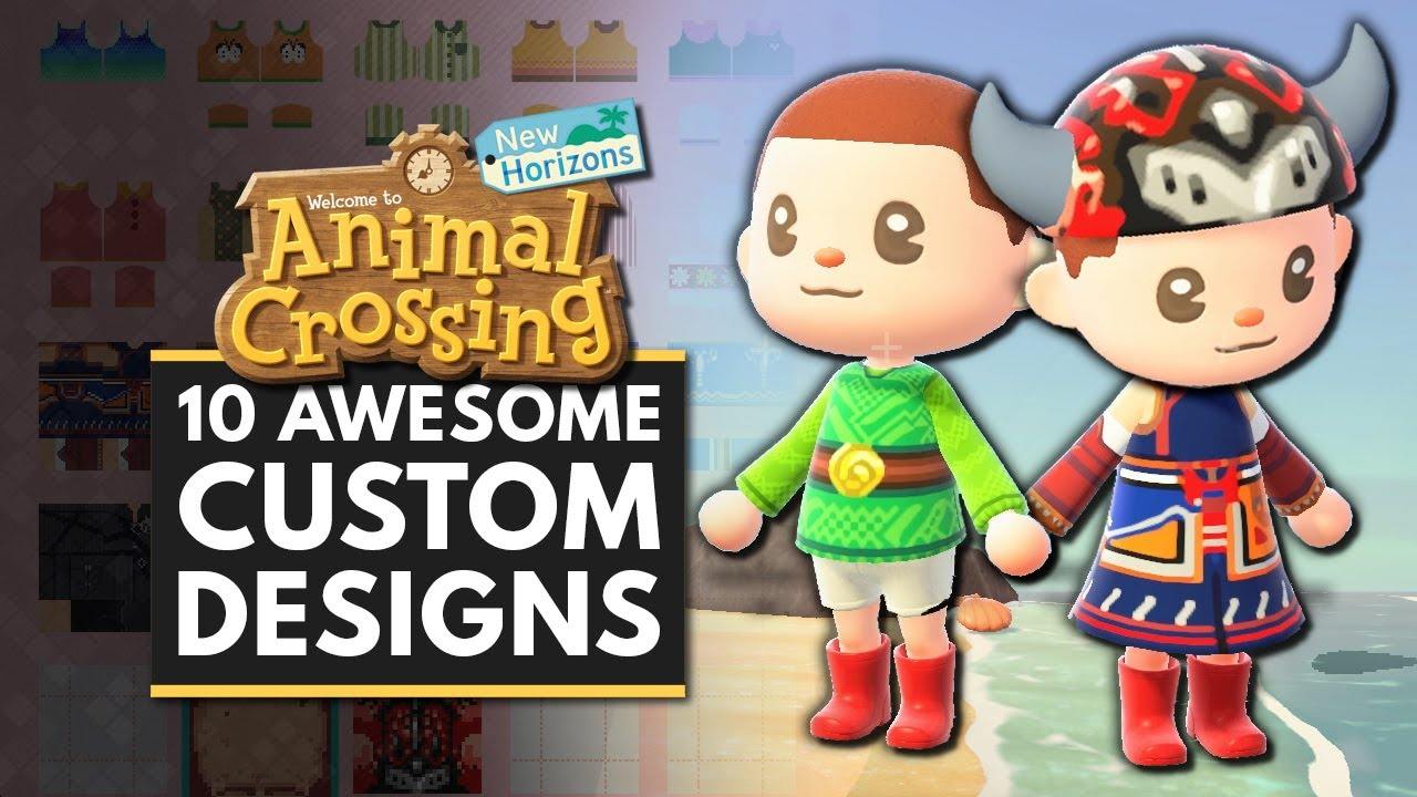Animal Crossing New Horizons 10 Awesome Custom Designs You Need