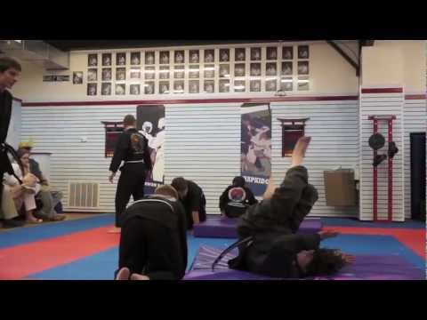 Levi Carroll's Black Belt Hapkido Test