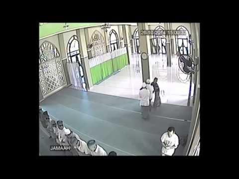 Maling Di Masjid Tertangkap Dan Lepas
