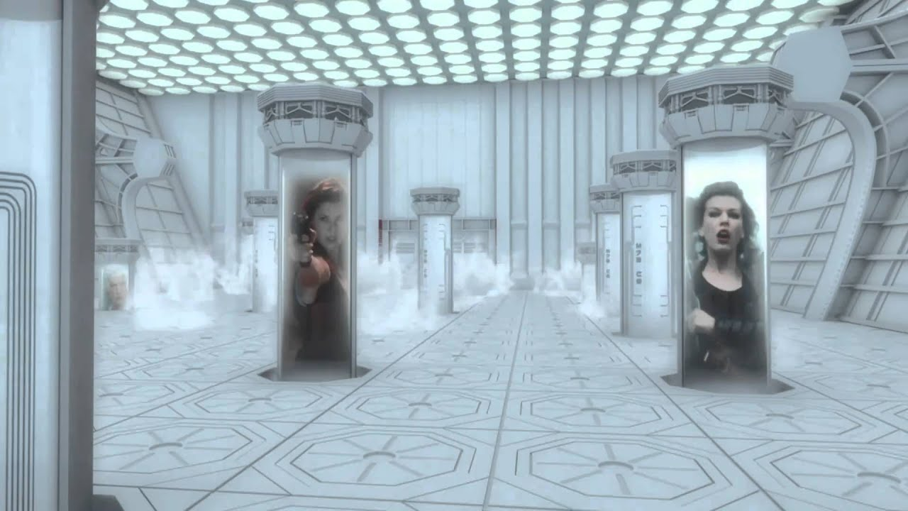 Download Resident Evil Afterlife - Blu Ray Menu