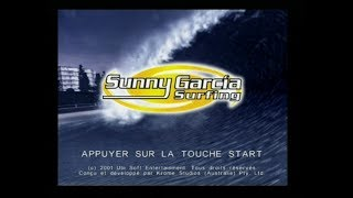 "[Ps2] Introduction du jeu ""Sunny Garcia Surfing"" de Ubisoft (2002)"