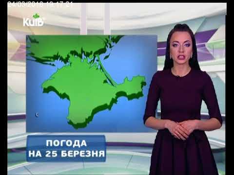 Телеканал Київ: Погода на 25.03.18