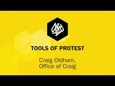 D&AD Festival 2018: Tools of Protest | Craig Oldham