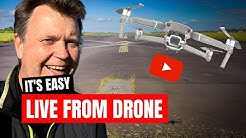 How To Live Stream Drone Footage