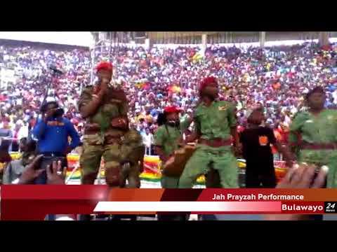 Jah Prayzah performs 'Kutonga kwaro' at Mnangagwa Inauguration ceremony