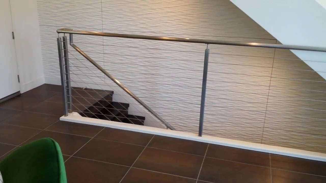 Shemonico - stainless steel cable railing project - YouTube