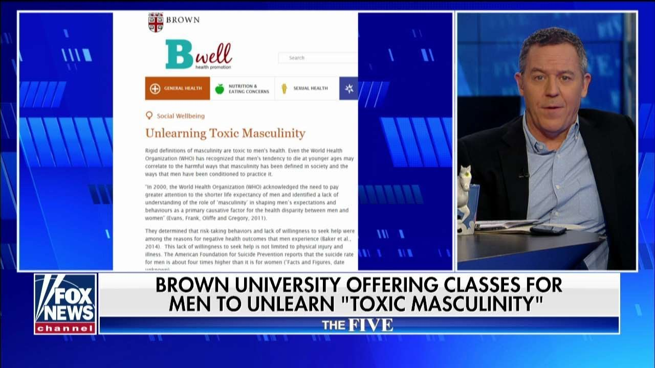 Brown University Offering Programs for 'Unlearning Toxic Masculinity'