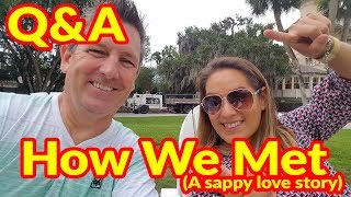 Q&A Done Our Way | Our Sappy Love Story On How We Met