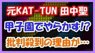 元KAT-TUN田中聖が甲子園でやらかす!? 叩かれる理由が・・・ 田中彗 検索動画 13