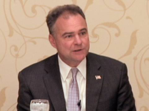 Tim Kaine: Policies to Pay Off for Dems in 2010