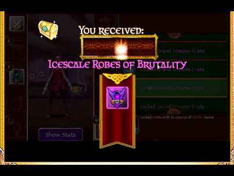Arcane Legends - Happy 2015! - 60 Locked Grand Ursume Crates
