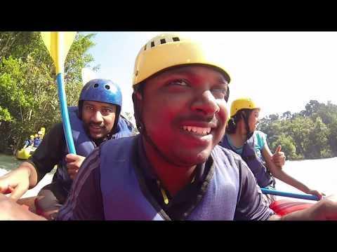 Dandeli White Water Rafting (Kali River)  (Watch in HD)
