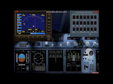 FSX: Emirates Airbus A380 Flight Dubai-Jakarta (1st)