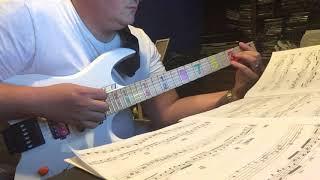 Virtuoso Guitar Secrets I: Marshall sweeps, banjo-rolls Artful Arpeggios by Mock