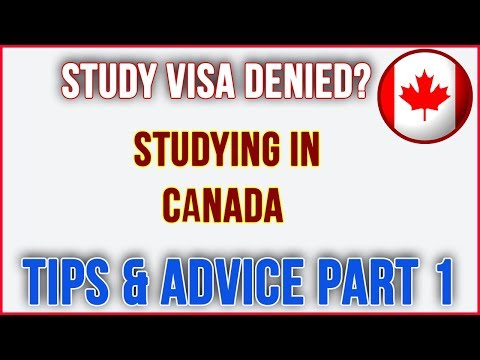 Study Visa Refused Tips And Advice - Most Common Reasons For Canadian Student Visa Rejection