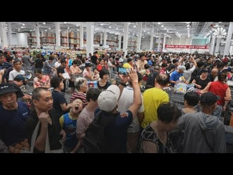 Costco Closed Its First Store In China Early Because Of Huge Opening-day Crowds