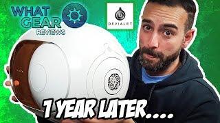Devialet Gold Phantom  1 year later...