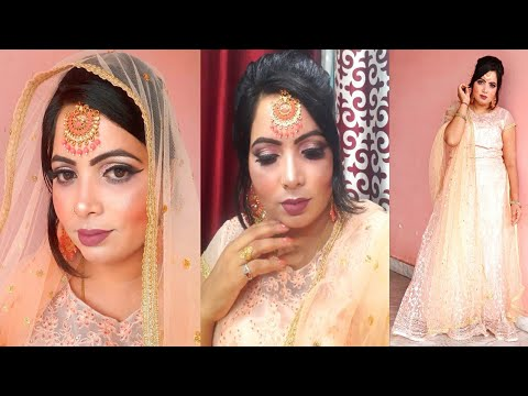 Olivia Makeup || Engagement Makeup Look & Hairstyle By Super blush beauty