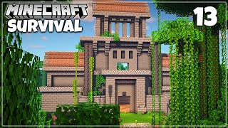 Transforming a Jungle Temple in SURVIVAL - Minecraft 1.16 Let's Play