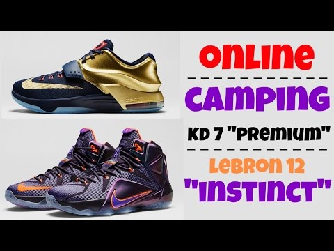 online retailer 0a111 3bfc9 Online Camping Experience for Nike Lebron 12