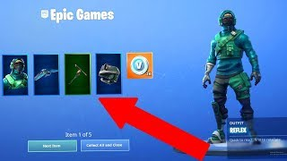HOW TO GET THE NEW REFLEX SKIN IN FORTNITE - Fortnite GeForce Bundle - New Fortnite Skin Bundle