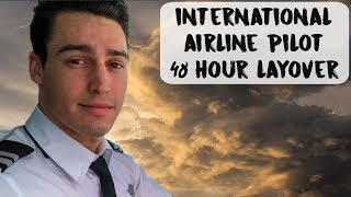 INTERNATIONAL AIRLINE PILOT 48 HOUR LAYOVER | USA - VLOG