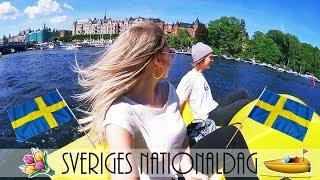 VLOGG: sveriges nationaldag, åker trampbåt, mm.