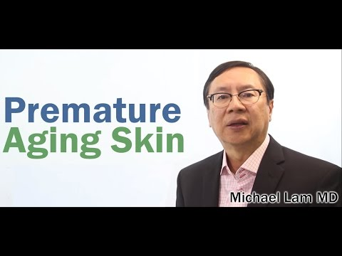 Premature Aging Skin caused by Adrenal Fatigue