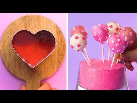 So Yummy Heart Cake Recipes You'll Love   How To Make Birthday Cake Decorating Ideas   Tasty Cake
