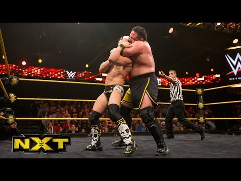 Johnny Gargano vs. Samoa Joe: WWE NXT, Jan. 20, 2016