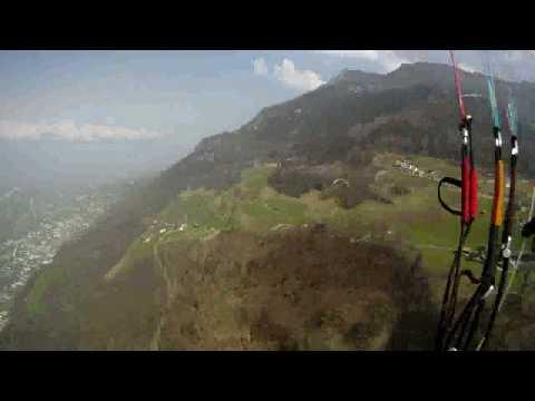 Paragliding Triesenberg Vaduz Liechtenstein