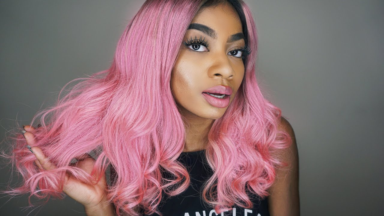Cupcake Candy Pink Ft Monstar Hair Extensions Review Youtube