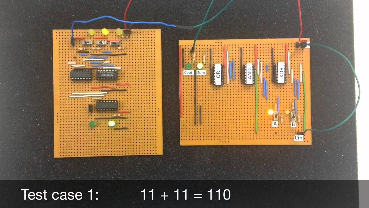 30.002 & 50.002 Mini 3D Project: Adder Design using Basic Logic ...