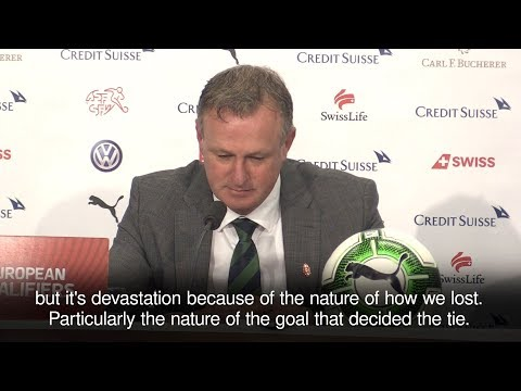 Michael O'Neill Devastated As Northern Ireland Fail To Reach World Cup
