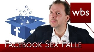 Facebook Abzocke - Sex Falle | Rechtsanwalt Christian Solmecke