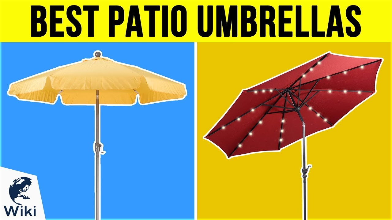 10 best patio umbrellas 2019