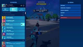 Playing fortnite with friends at 2am in the morning