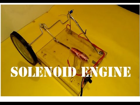 How to Make Solenoid Engine : 4 Steps (with Pictures)